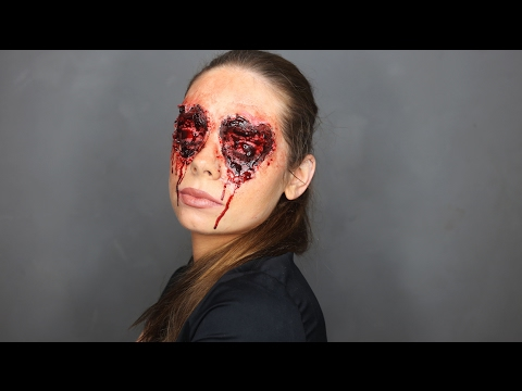 HEART EYES Valentines Day SFX Makeup Tutorial