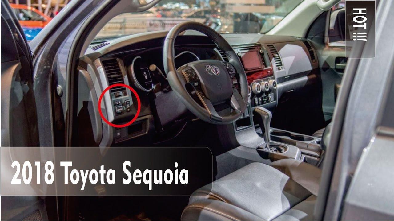 Hot 2018 toyota sequoia release date price and specs - Toyota sequoia interior dimensions ...