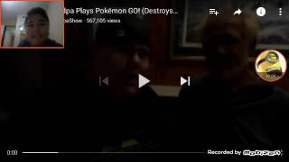 Reacting to (ANGRY GRANDPA PLAYS POKEMON GO DESTROYS IPHONE)