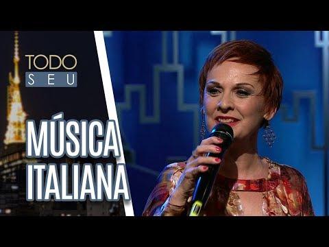 Música Italiana Com A Cantora Mafalda Minnozzi - Todo Seu (08/06/18)