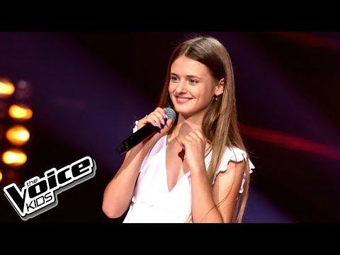 Julia Chmielarska - 'Against All Odds' - Przesłuchania w ciemno - The Voice Kids 2 Poland