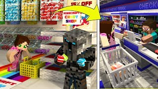 Minecraft: CHOCOLATE FACTORY TYCOON! (BUILD WILLY WONKA'S FACTORY!) Modded Mini-Game