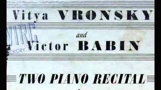 Schubert / Vronsky & Babin, 1956:  Fantasia in F minor, D.940 (op. post. 103) - Complete