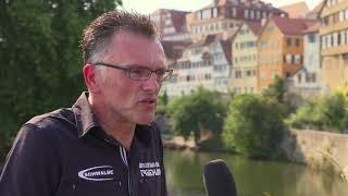 1. Bitburger 0,0% Triathlon-Bundesliga Tübingen 2018 - Guido Pesch im Interview
