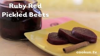 How To Make Ruby Red Pickled Beets