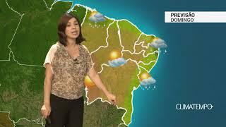 Previsão Nordeste – Pancadas de chuva pelo litoral