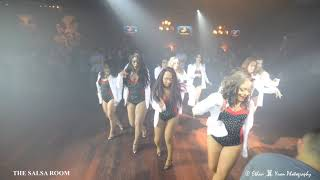 LADIES TOUCH Bachata Dance Performance @ THE SALSA ROOM