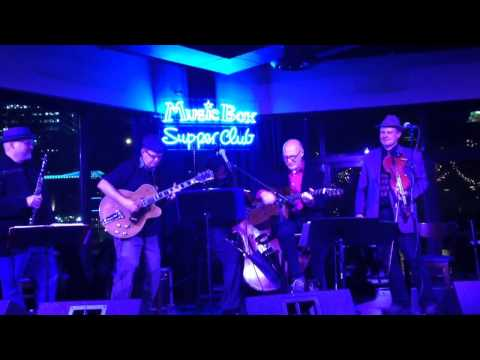 Hot Djang! at the Music Box Supper Club, Cleveland, Ohio, December 3, 2014