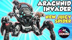 ARACHNID Invader New Big Juicy Spider :) - War Robots Maxed Mk2 Gameplay