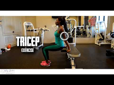 """""""A.M.R.A.P"""" Chest, Arm, & Calf Exercises With Ashley Nickole"""