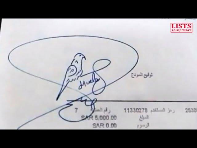Không ngờ trên thế gioi lại có những chữ ký mang phong cách hài hước thú vị thế này