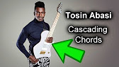 How To Play Cascading Cluster Chords Like Tosin Abasi From Animals As Leaders Cl Ep 49 Youtube