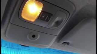 Рено сценик 1, замена скобы крышки багажники или почему при езде всегда в салоне горит свет.