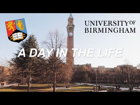 A DAY IN THE LIFE OF A UNIVERSITY STUDENT | UNIVERSITY OF BIRMINGHAM, UK