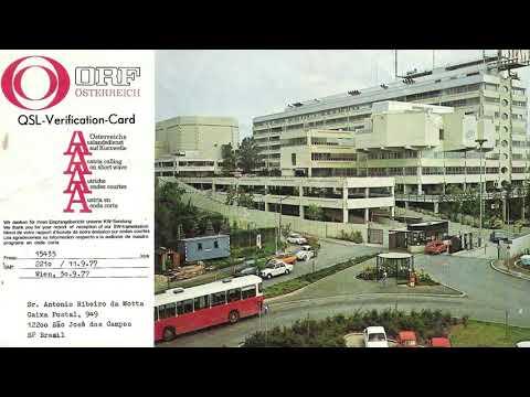 ORF Radio Austria 15425 kHz - Wien (Austria) - International Sce and Folk Music - 1976