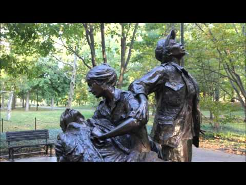 Foto's Vietnam Veteran Memorial, Washington DC