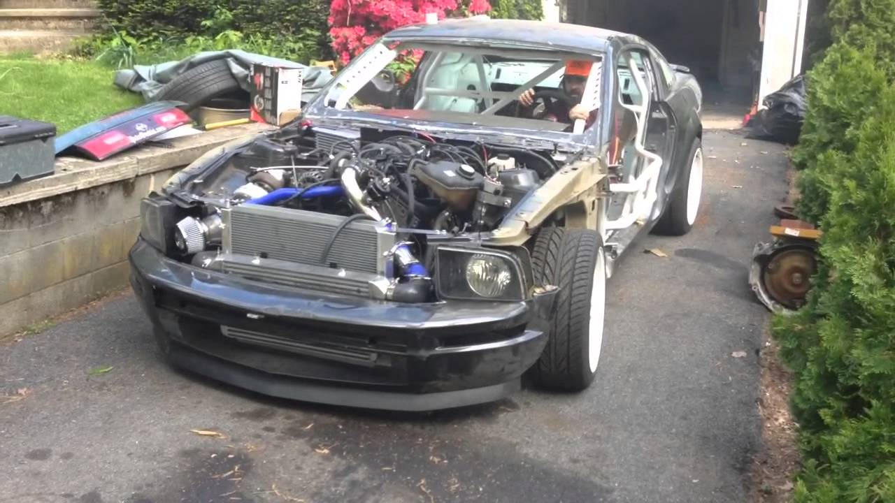 2007 Mustang Turbo V6 4 0 Youtube