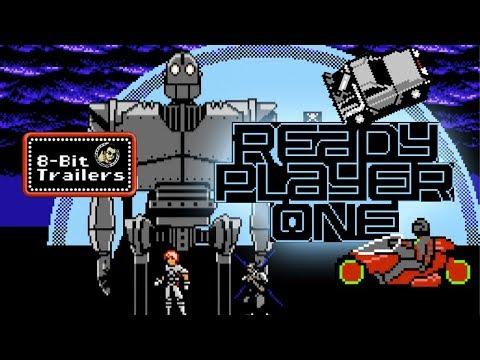 READY PLAYER ONE - 8-Bit Trailers (2018) Steven Spielberg, Ernest Cline sci-fi movie 👾