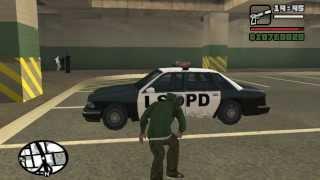 (GTA-SA)Как угнать полицейское авто без звёзд(Как угнать полицейское авто в GTA - SAN ANDREAS без звёзд. Автор: emka Игра: GTA - SAN ANDREAS Музыка: