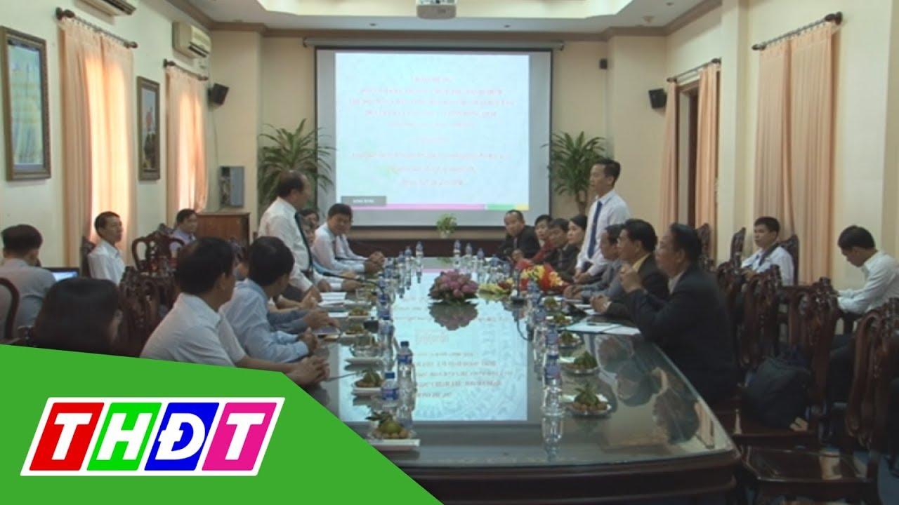 Đoàn đại biểu Trường Chính trị – Hành chính Viêng Chăn thăm Đồng Tháp | THDT