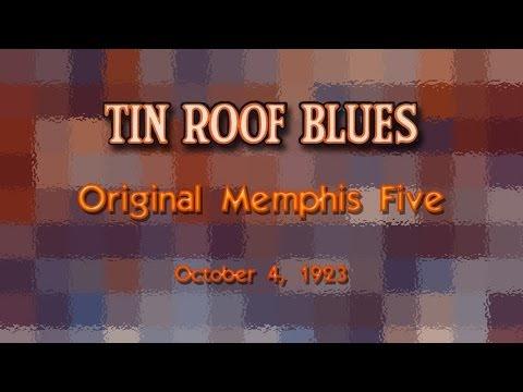 Original Memphis Five - Tin Roof Blues (1923)