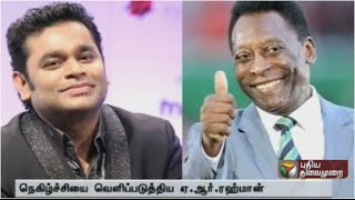 I composed music of a biopic on Pele without knowing him: AR Rahman spl hot tamil video news 13-10-2015