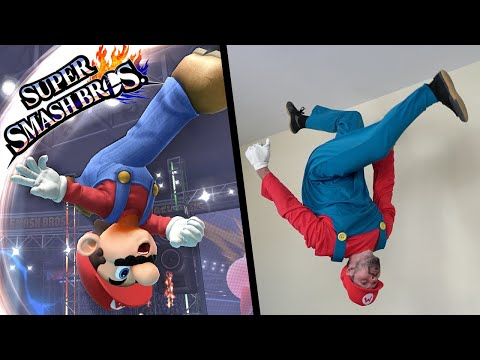 Super Smash Bros Ultimate Stunts In Real Life (Parkour) thumbnail
