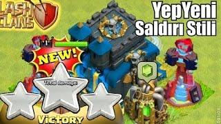 YEPYENİ Bir Saldırı Stratejisi Buldum!!! Harika!!! - Clash of Clans