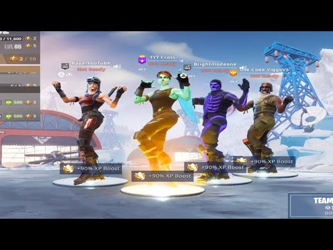 The Most Og Tryhard Fortnite Squad Ever All Purple Skull Trooper