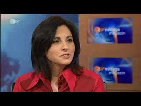 Evgenia Rubinova im ZDF Mittagsmagazin
