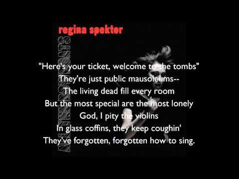 Regina Spektor- All the Rowboats Lyrics