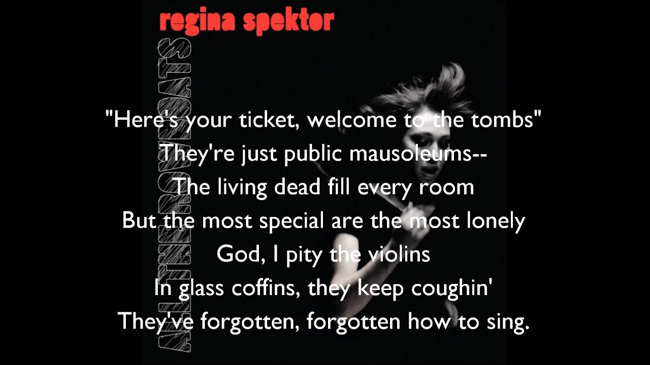 Regina Spektor All The Rowboats Lyrics
