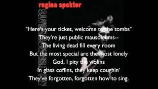 Regina Spektor All The Rowboats Lyrics