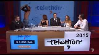 Shirts off - Matt Little - Telethon 2015