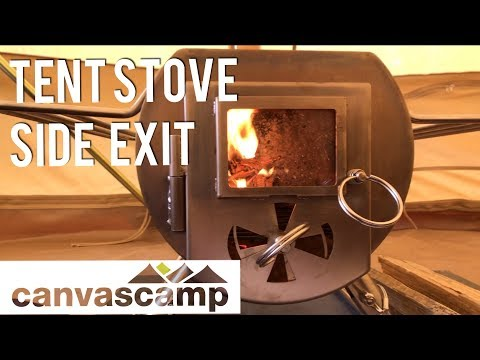 How to Side Exit a Tent Stove Flue Pipe - Gstove - CanvasCamp