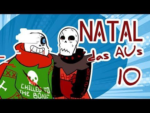 #10 FESTA DE NATAL DAS AUS   Undertale