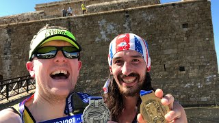 Logicom Cyprus Marathon Debrief with Winner Adam Holland