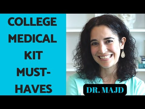 College Supplies for First Aid Kit 10 Dorm Room Survival Essentials