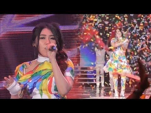 Tampil di Konser Energi Asian Games 2018, Via Vallen Nyanyikan Lagu 'Meraih Mimpi'