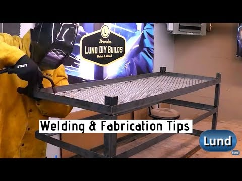 Metal Fabrication Tips DIY Industrial Style Table