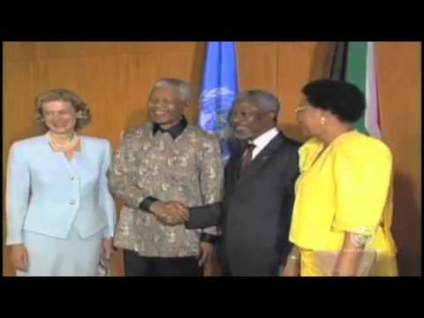 UN Honors Peace & Justice Icon Nelson Mandela