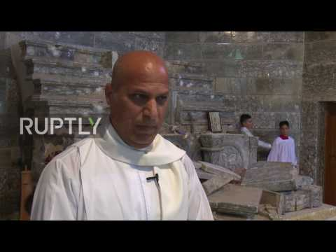 Iraq: Assyrian town Batnaya holds first Easter service in two years after IS occupation