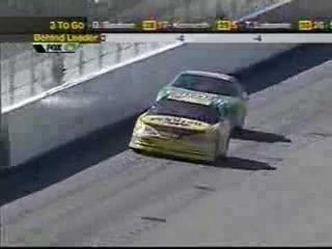 2001 Dura Lube 400: Finish