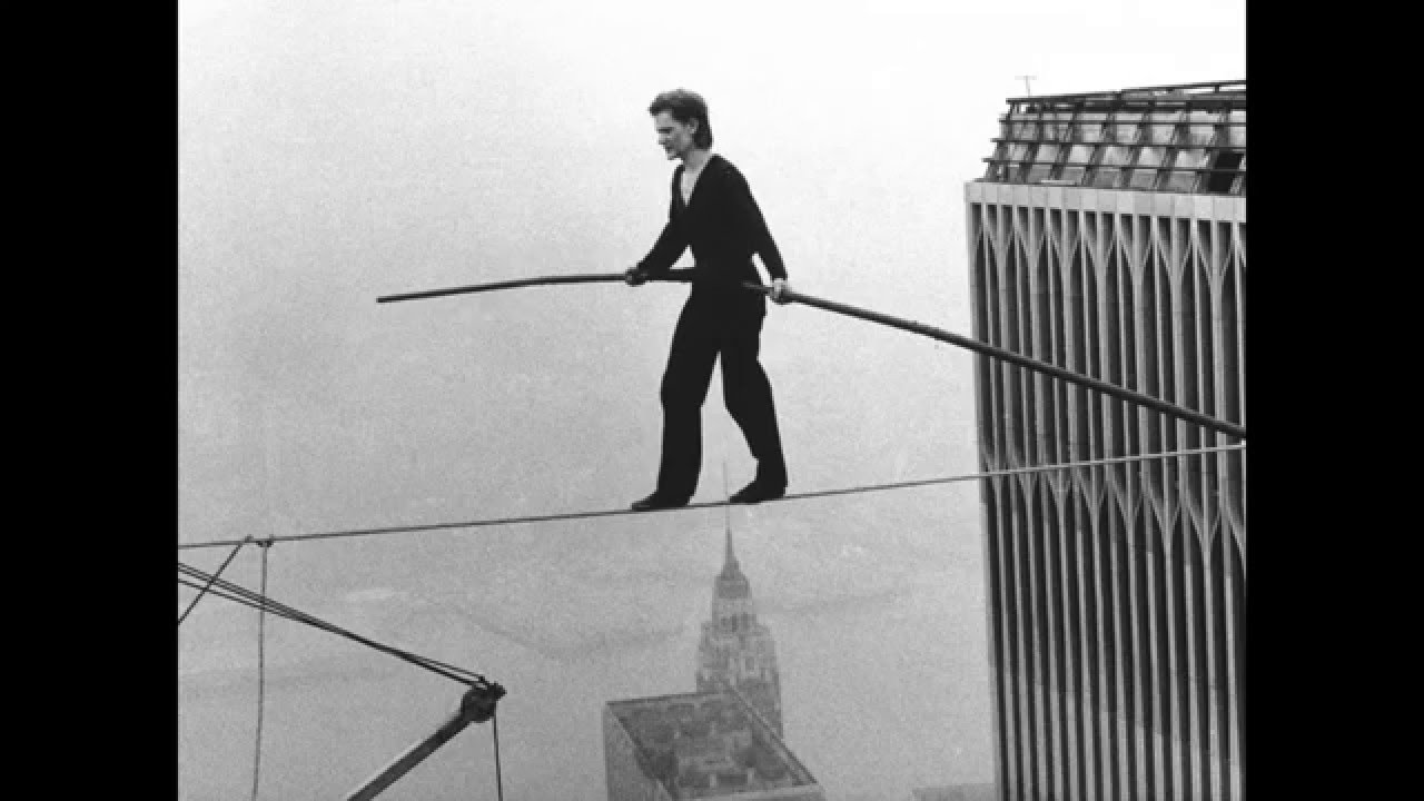 Philippe Petit World Trade Center Wtc Twin Tower Wire