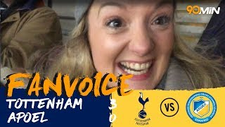 Llorente and Son put the Spurs past APOEL! | Tottenham Hotspur 3-0 APOEL | 90min Fanvoice