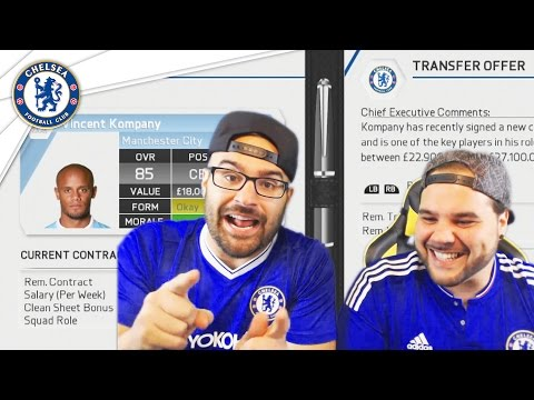 BIG TRANSFER TRADE ACCEPTED! Chelsea Fifa 16 Career Mode Co-op #03