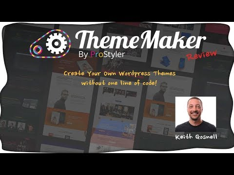 WP ThemeMaker Review - Build your Own Custom WordPress Themes Without Coding