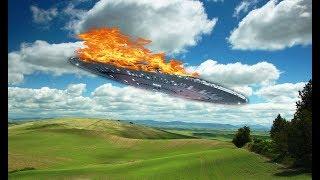 В России РУХНУЛ трёхтонный аппарат пришельцев. Власти засекретили пp0иcшеcтвиe с НЛО