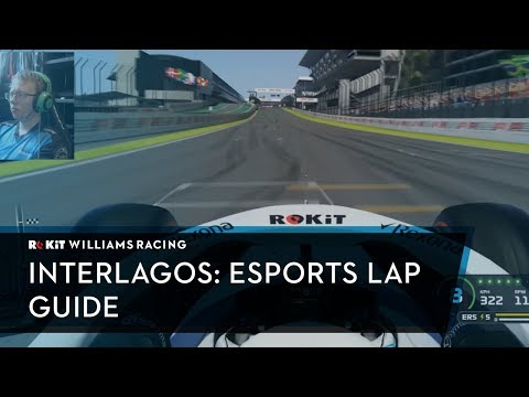 Join Williams Esports for a hot lap of Interlagos!