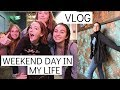 weekend day in my life vlog w/ friends || photoshoots, shopping, food